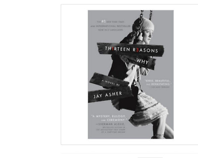 Thirteen (13) Reasons Why by Jay Asher a paperback book FREE USA SHIPPING