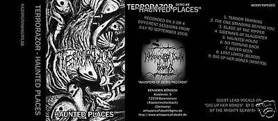 Terrorazor - Haunted Places MC (Nocturnal,Angel Of Damnation)