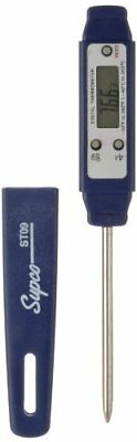 """Supco ST09 Digital Pocket Thermometer, 2-1/2"""" Stem, -40 to 392 Degree F"""