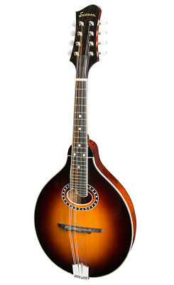 Eastman MD 504 CS A Style Mandoline oval Hole mit GigCase