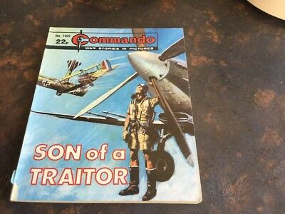 1. very old Commando war comic. 1923 Son Of A Traitor