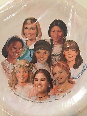 New Hallmark American Girl Pleasant Company Birthday Party Paper Plates 8 Count