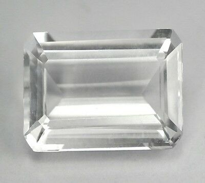 KRISTALLQUARZ  -  OCTAGON CUT  -  12,4x10 mm  -  5,64 ct.