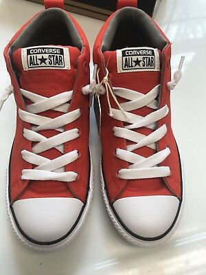 a6a5430bad74 CONVERSE ALL STAR CHUCK TAYLOR STREET MID shoes for boys NEW