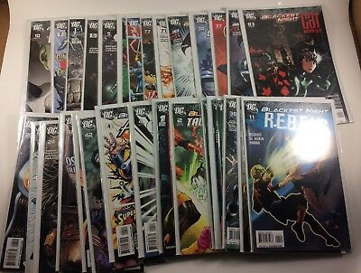 Huge Lot of DC Blackest Night Tie In Issues 33 Comics Total NM