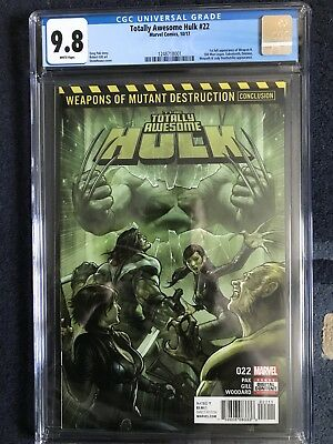 The Totally Awesome Hulk #22 | CGC 9.8 | 1st Appearance of Weapon H Marvel 2017