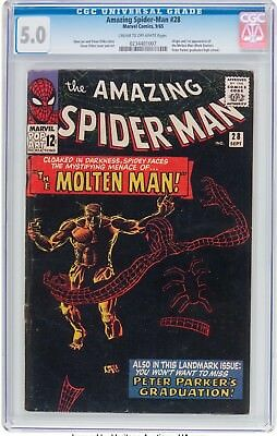 The Amazing Spider-Man #28 (Marvel, 1965) CGC VG/FN 5.0 Cream to off-white pages
