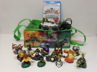Skylanders Swap Force Wii U Game Portal Storage Bag and Figures x 13 & SKYLANDERS SWAP FORCE Wii U Game Portal Storage Bag and Figures x ...