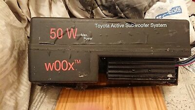 toyota active subwoofer system 50w for toyota yaris and more P/N: Pz426bo250-00