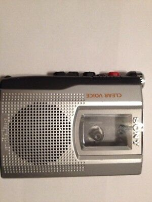Sony Clear Voice Cassette Recorder the-150