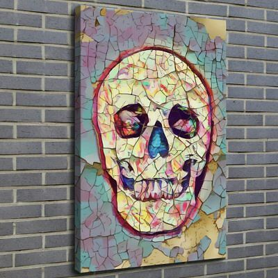 Modern Art Skull Painting HD Print on Canvas Home Decor Room Wall Art Picture