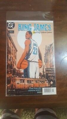 King James #1 (Dc/2004) Comic Lebron James/nba/jock Variant, Nm 9.6/9.8 Rookie