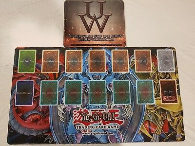 Official Yugioh 2007 sacred beast national qualifier playmat