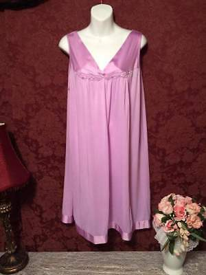 6 Gown Lot Of Vintage Babydoll Nylon Nightgowns Nighties Large