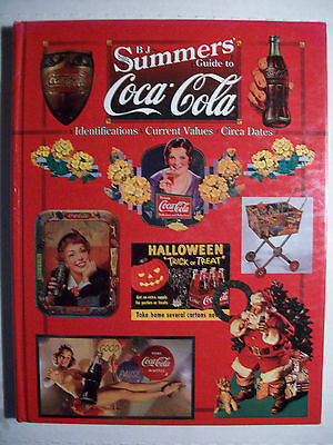 COKE COCA COLA COLLECTORS BOOK Signs Plate Thermometers Bottle Radio Knives Toy