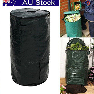 PE Cloth Organic Indoor kitchen Waste Garden Yard Compost Veg Herb Planter Bag