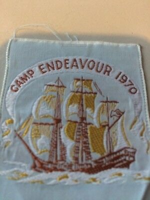Girl Guides / Scouts Camp Endeavour 1970