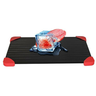 Thawing Plate Fast Defrosting Tray Thaw Defrost Meat Frozen Food Aluminum