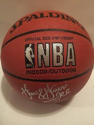 181866a35a5 Bill Walton   George Gervin Signed Autographed NBA Full Size Basketball PSA  DNA