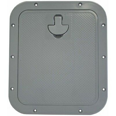 Standard Hatch - Grey - With Removable Lid