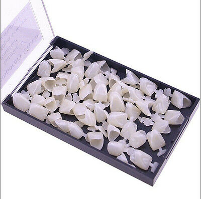 50x Dental Temporary Crown Veneers Anteriors Front Synthetic Resin Tooth -US