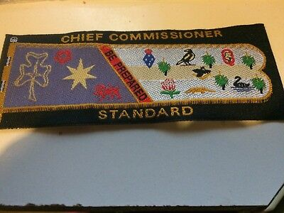 Girl Guides / Scouts Chief Commissioner Standard