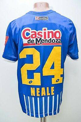 Godoy Cruz Argentina 2014/2015 Home Football Shirt Lotto #24 Neale L Adult
