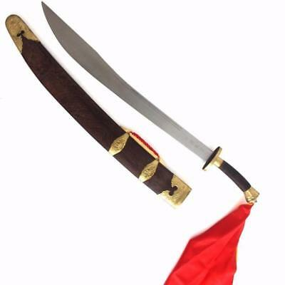 Kung Fu & Taichi Broadsword Quality Hilt & steel Blade for training or display