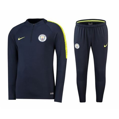 29237bc75 NIKE MANCHESTER CITY Training Squad Drill Tracksuit 2018/19 - Mens ...