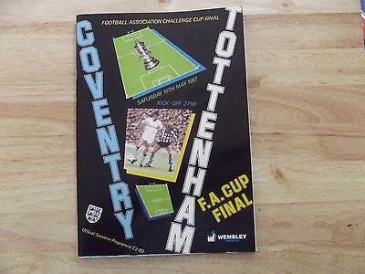 1987 Coventry v Tottenham F.A.Cup Final