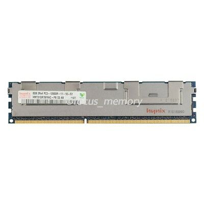 Hynix 8GB 2RX4 PC3-12800R 1.5V DDR3-1600MHZ ECC REG Registered SERVER Memroy Ram