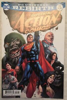 ACTION COMICS (2016) #957  1st Print - DC Universe Rebirth