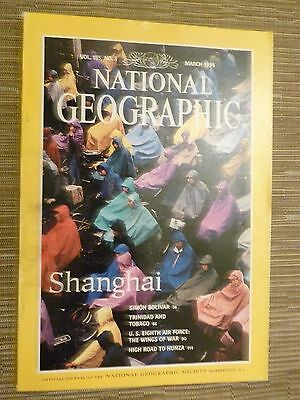 National Geographic- SHANGHAI - MARCH 1994