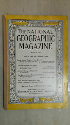 National Geographic- March 1951: YANKEE ROAMS THE ORIENT
