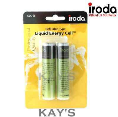 Lec-8 Refillable Fuel Cells For Pro Iroda 150 Gas Soldering Iron Twin Pack