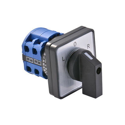 690V 20A-32A On-Off-On On-Off 8 Terminals Changeover Control Rotary Cam Switch