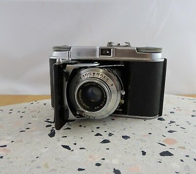 Vintage Voigtlander Vito II 35mm Folding Camera  Color - Skopar Lens