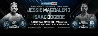 Jessie Magdaleno vs isaac Dogboe & undercard boxing on bluray