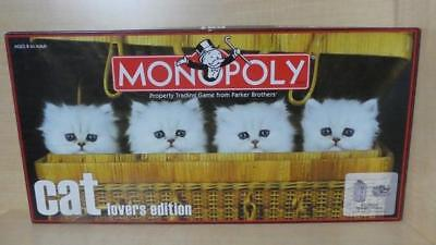 Monopoly - Cat Lovers Edition - Complete, Includes 6 Custom Pewter Tokens