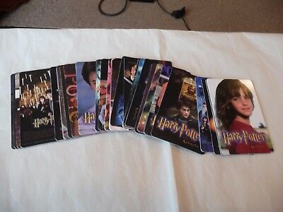 Set of 37 Calendar backed Cards for Harry Potter and the Prisoner of Azkaban