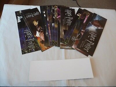 Set of 24 Blank backed Cards for Harry Potter and the Prisoner of Azkaban