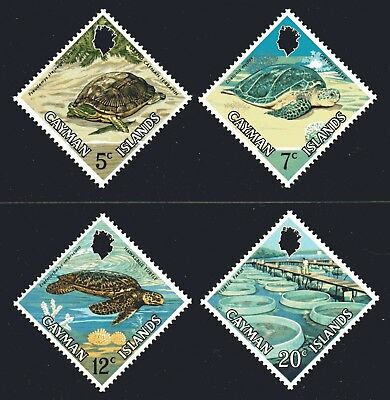 Cayman Islands 1971 Turtles set of 4 Mint Unhinged