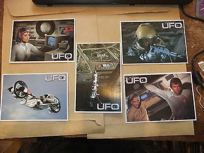P1 P2 P3 /& P4 Cards Inc Gerry Anderson UFO Set Of 4 Promo Preview Cards