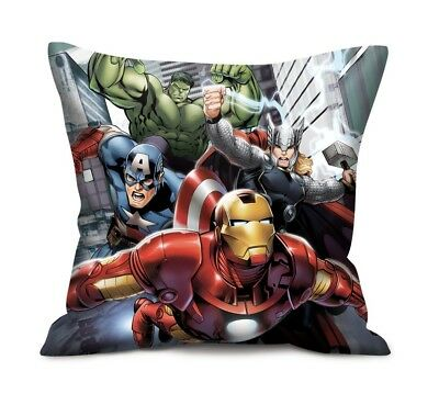 Marvel Avengers Kissen Captain America, Iron Man, Thor & Hulk