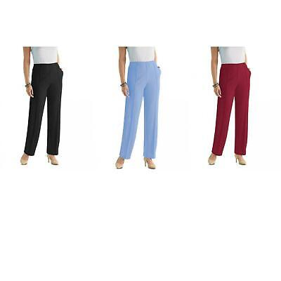 8038be77a88 New Sara Morgan Womens Fit   Flatter Knit Casual Pants with Pockets