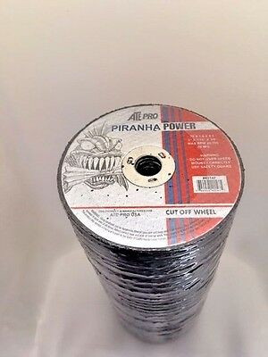 """Cut Off Wheels 3"""" X 1/16"""" X 3/8"""" 100Pc Abrasive Cutting Tools & Consumables"""