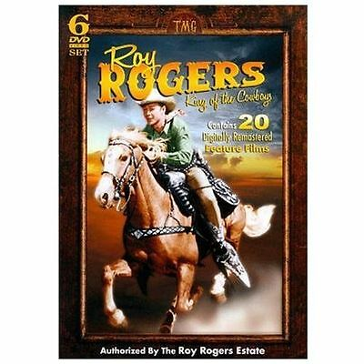 Roy Rogers: King of the Cowboys (DVD, 2010, 6-Disc Set) New!