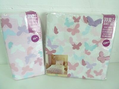 Maisie Multi Quilt Cover Double Set with Double Fitted Sheet Pillowcases NEW