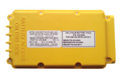 Artex ME406 Replacement Battery 455-0012