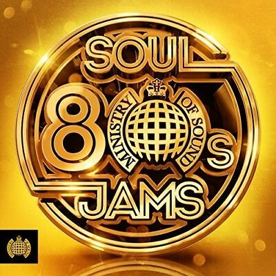 Ministry Of Sound: 80s Soul Jams - 3 DISC SET - Various Artist (2018, CD NUOVO)